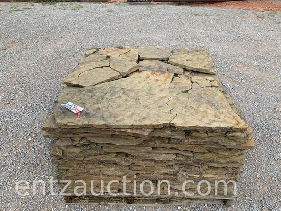 PALLET OF OKLAHOMA FLAGSTONE ROCK