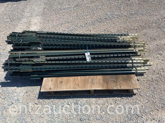 6' GREEN T-POST, NEW, ***SOLD TIMES THE
