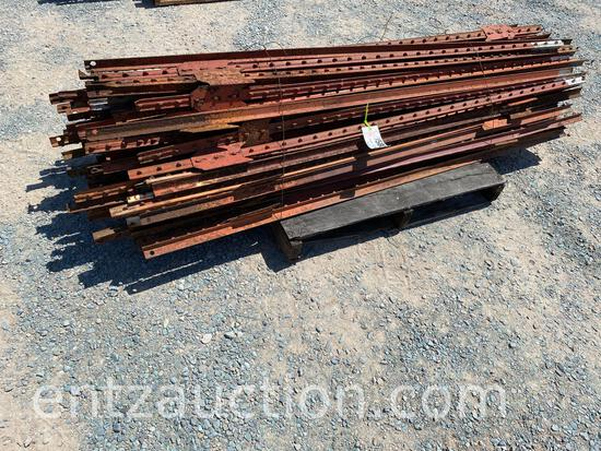 6 1/2' RED T-POST, USED, ***SOLD TIMES THE