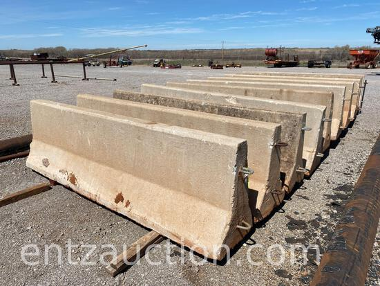 10' CONCRETE BARRIERS ***SOLD TIMES THE QUANTITY***