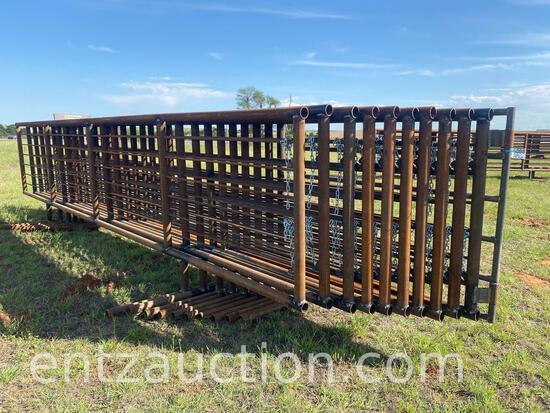 10-24' HD FREESTANDING CATTLE PANELS, 1-6' GATE
