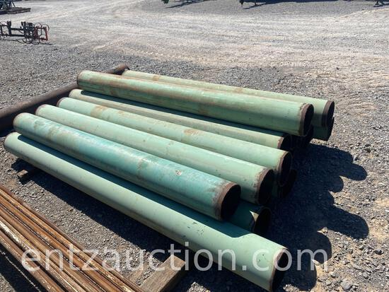 """8"""" DIAMETER 6' TO 8' LONG POSTS ***SOLD TIMES THE QUANTITY***"""