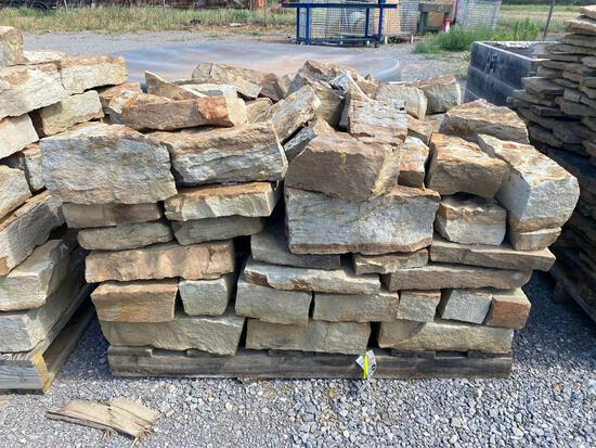 PALLET OF OKLAHOMA FLAGSTONE ROCK