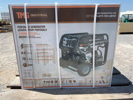 TMG PORTABLE GENERATOR, 12,000 STARTING WATTS,