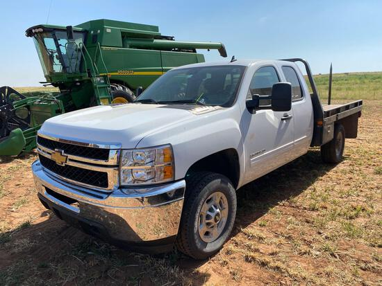 2011 CHEVY 2500 HD 3/4 TON PICKUP EXTENDED