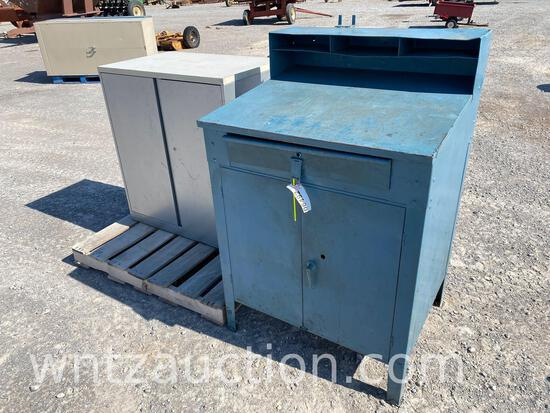 """35"""" FOREMAN STATION CABINET AND 40"""" X 23"""" X 36"""""""