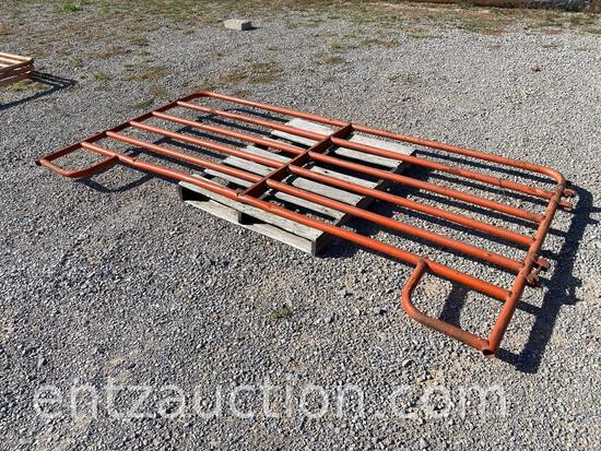 """10' CATTLE PANEL AND (2) 4"""" GATES AND"""