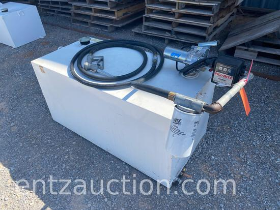 ATWOODS 100 GALLON FUEL TANK WITH 12 VOLT