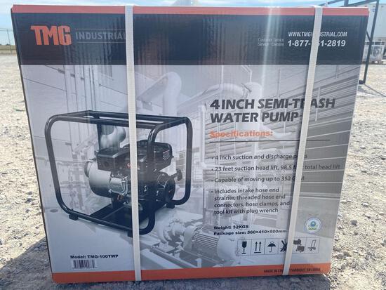 "TMG 4"" SEMI TRASH WATER PUMP"