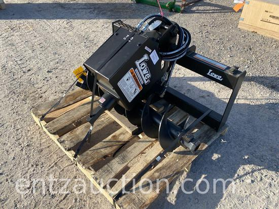 """LOWE 750 CLASSIC POST HOLE DIGGER, 12"""" AUGER, USSA, UNUSED"""