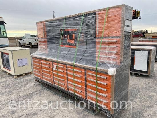 10' 30 DRAWER WORKBENCH CABINET COMBO,