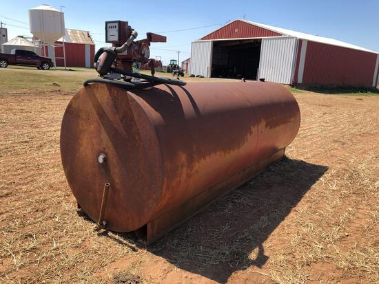 1000 GALLON FUEL TANK WITH