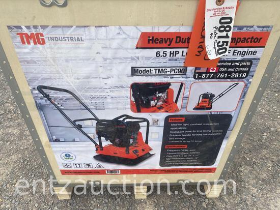 TMG HD PLATE COMPACTOR, 6.5 HP LONCIN