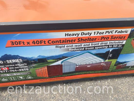 TMG 30' X 40' PRO SERIES CONTAINER SHELTER,