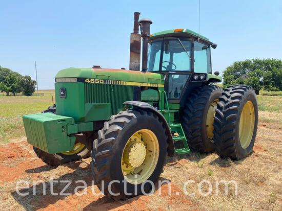 Combs Equipment Auction