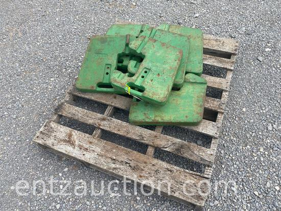 SEVEN JD FRONT END WHEEL WEIGHTS
