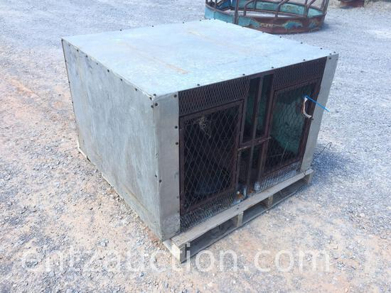 SHOPBUILT ALUMINUM DOG BOX