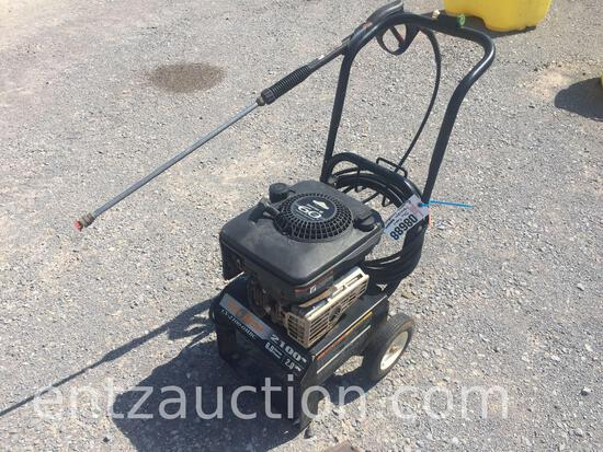 THE CORE MASTER PRESSURE WASHER, 6 HP MOTOR,