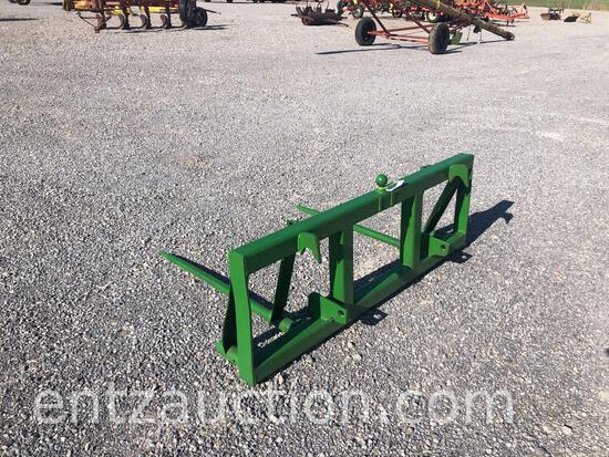 QUICK HITCH BALE SPIKE FOR FRONT END LOADER