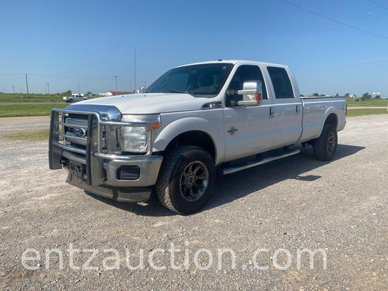 2012 FORD F350 SUPER DUTY PICKUP, 6.7 POWER