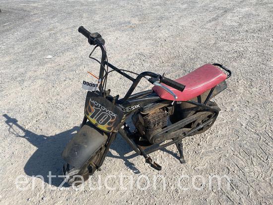 MOTOVOX MINI BIKE, 80CC, GAS,