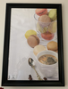 Large Wall Food Print Of Macaroons And Coffee