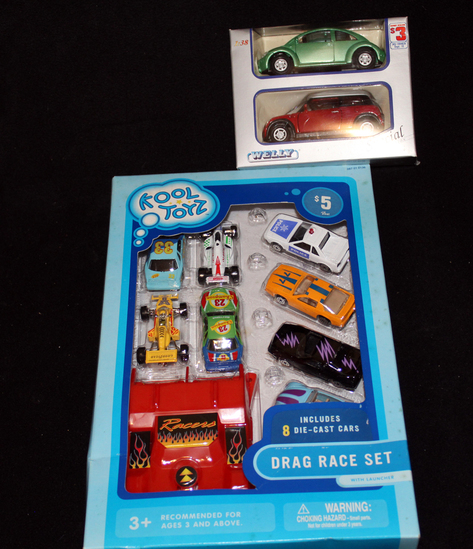 Lot of Kool Toys and Welly Cars