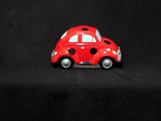 "Lotus 12'' Ceramic VW Volkswagen Beetle bug ""Lady Bug"""