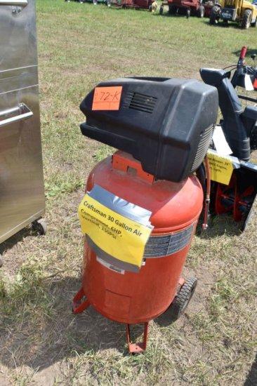 Craftsman 30 Gallon Air Compressor, 6HP, Vertical