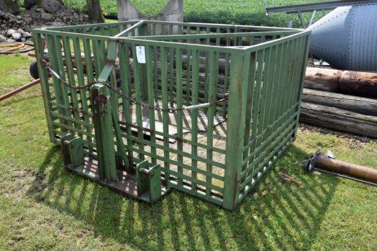 Hog Mover, 3pt. Steel Crate, 7'x5'