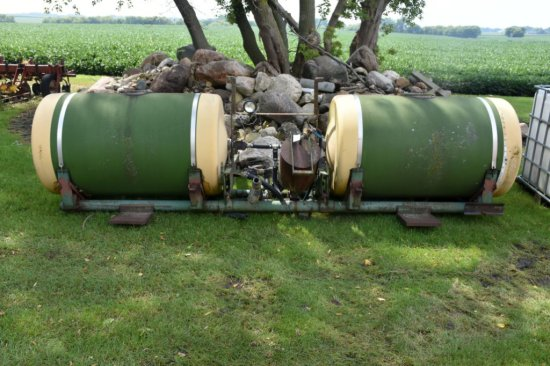 Pair of Saddle Tanks with Brackets