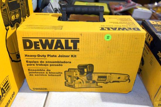 Dewalt Heavy Duty Plate Jointer Kit, New In Box