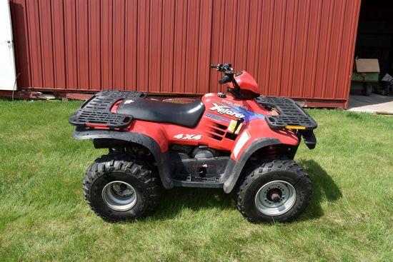 Polaris Xplorer 400 4x4 ATV, 813 Miles, Nice, 2-Stroke, VIN: 3004762