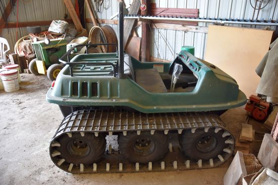 Max Amphibious Wheel Track Machine, 18 HP V Twin, Like New