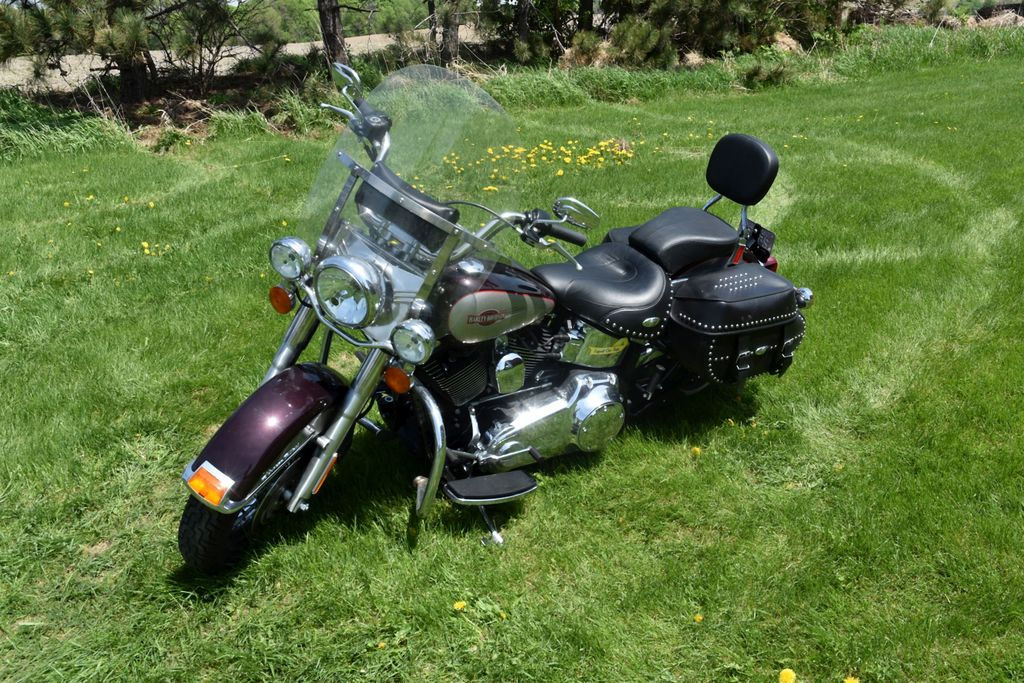 2007 Harley Davidson Heritage Softail, Leather Bags, Sharp, Low Miles