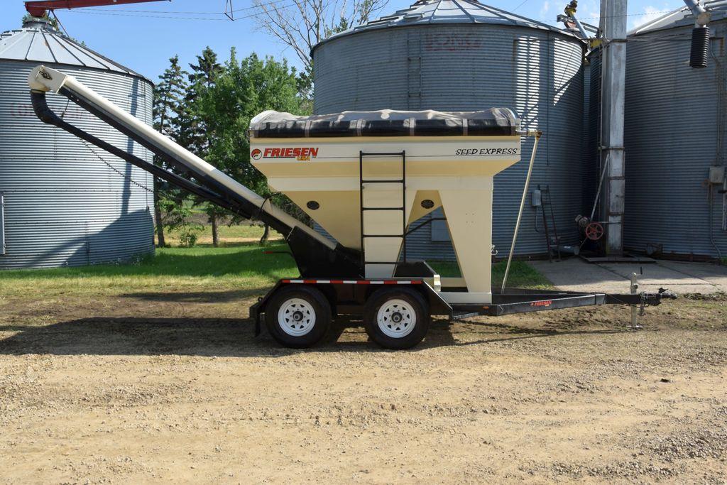 Lot: Friesen 240 Seed Express, Seed Tender, Tandem Axle, Roll Tarp