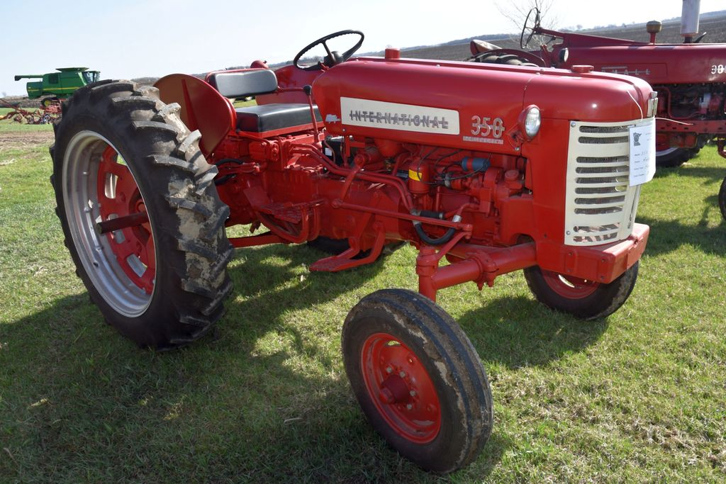 1956 International 350 High Utility, New Tires, Fast Hitch, Wheel Weights, Clam Shell Fenders, New T