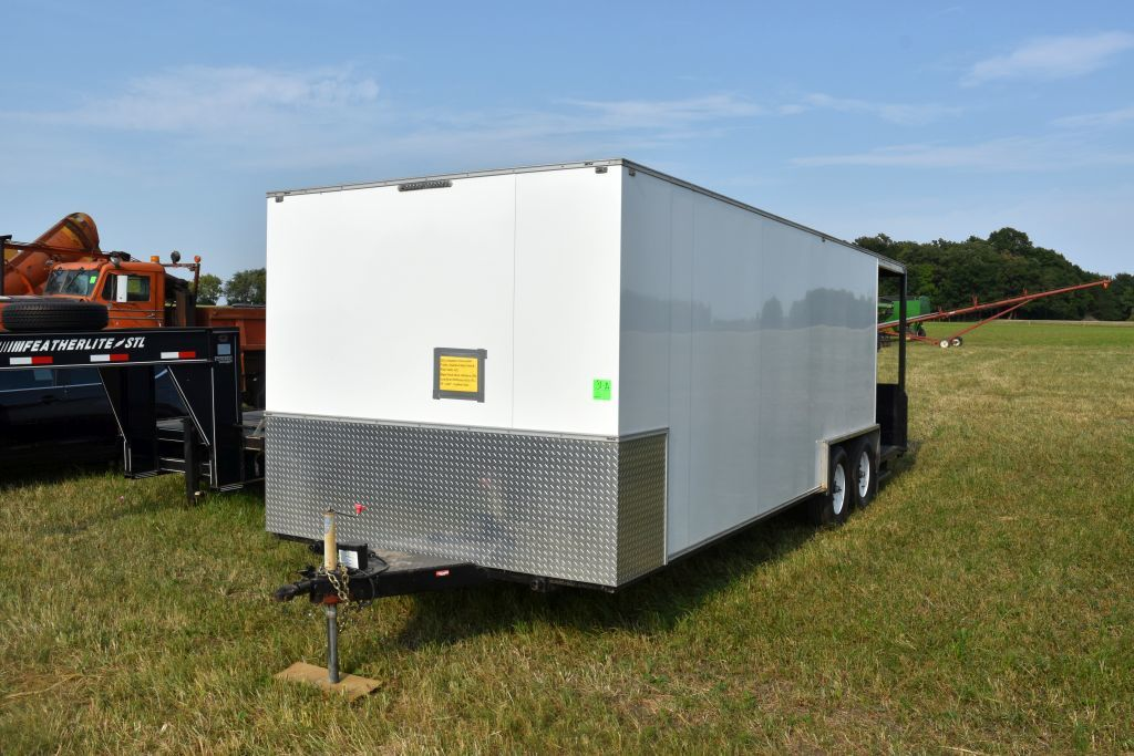 2015 Shopbuilt Concession Trailer, Stainless  Steel Sink & Prep Table, A/C, Right Hand Serve Window,