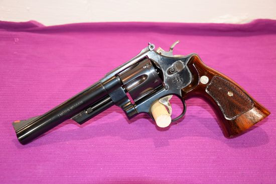 """Smith And Wesson Model 57-3 Revolver, 41 Mag, 6"""" Barrel, SN: BF80194"""