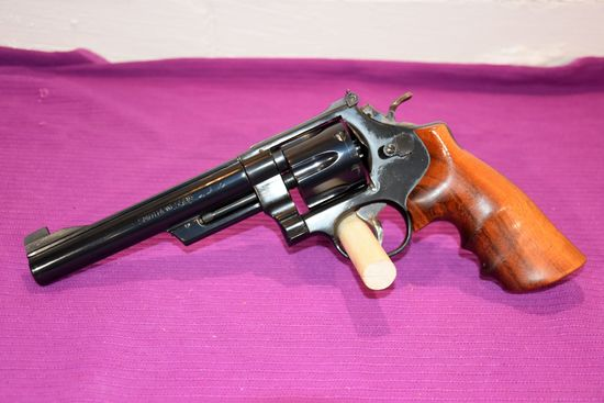 """Smith And Wesson Model 25-2 Revolver, 45 Cal, 6.5"""" Barrel, SN: N614182"""