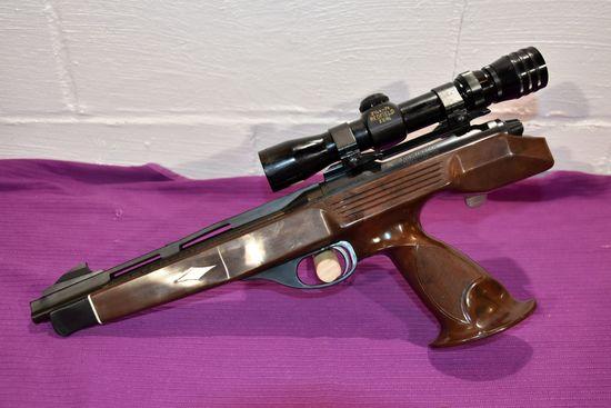 Remington Model XP100 Bolt Action Pistol, 221 Rem Fireball, Redfield 2.5x7 Scope, SN: 7848