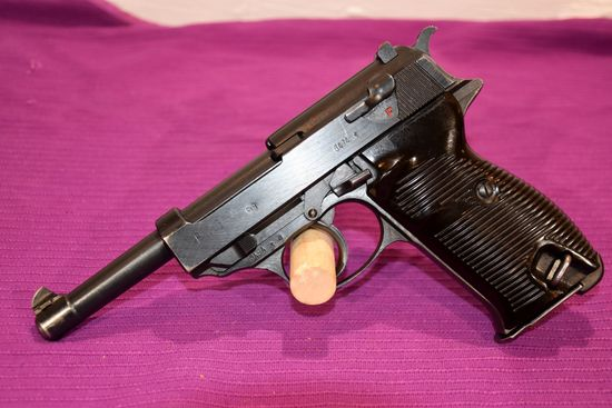 German P38 Pistol, SN: 6494S