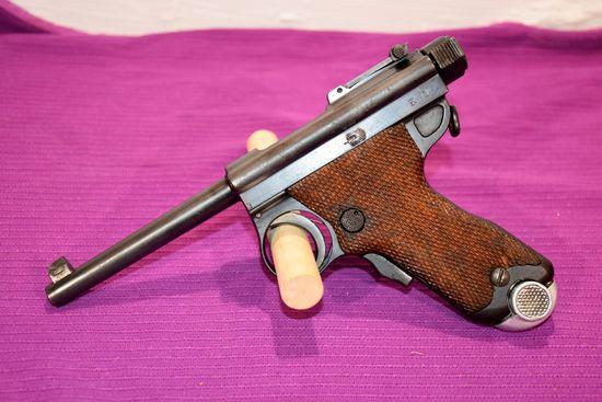 Japanese Papa Nambu Pistol, 8MM Nambu, SN: 6180