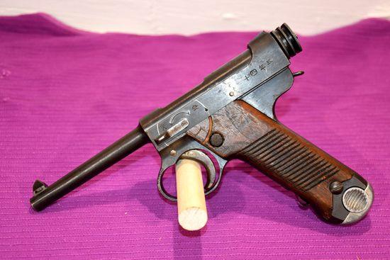 Japanese Nambu Type 14 Pistol, 17.9 Marked, 8MM, SN: 9927