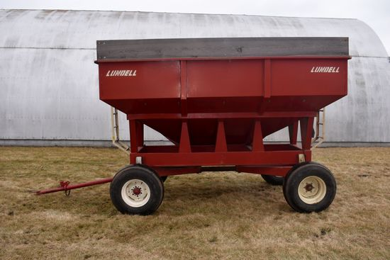 Lundell 325 Gravity Box With 10 Ton Gear