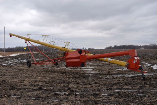 Westfield MK 100-71 Swing Hopper Auger, Hyd. Lift, 540 PTO, Good Condition, SN: 178919