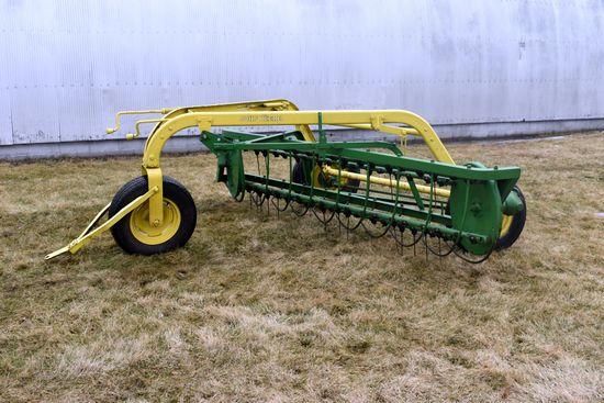 John Deere 640 Hay Rake, Front Dolly Wheel