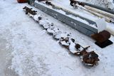 16' Cutter Bar Off Of New Holland Hw365 Discbine, Newer Turtles & Hay Lifters