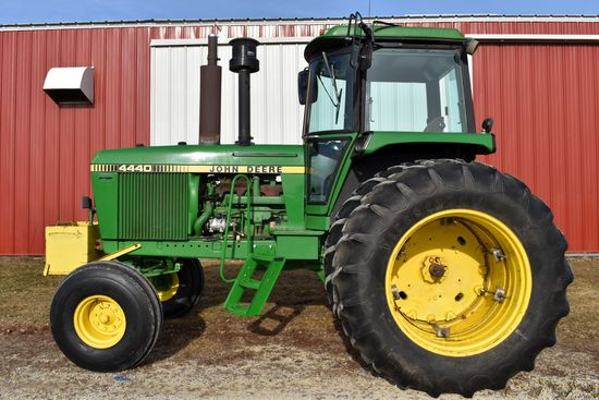 Clean John Deere Farm Retirement - Goplen