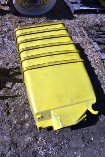 (6) John Deere 7200 Planter Seed Boxes, Used, No Lids